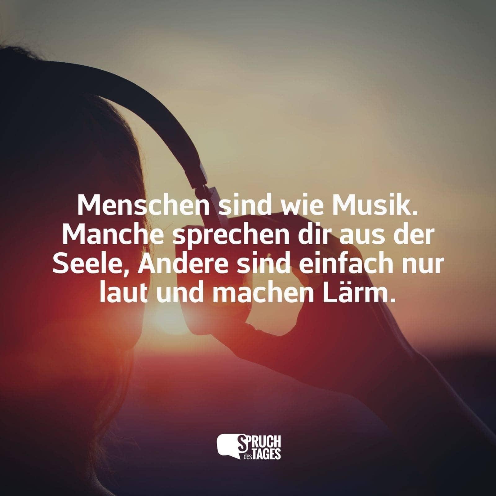 Schöne sprüche über musik