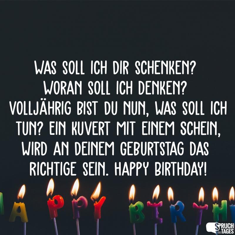 18 Geburtstag Tochter Verse Und Gedichte Zum 18 Geburtstag Fur