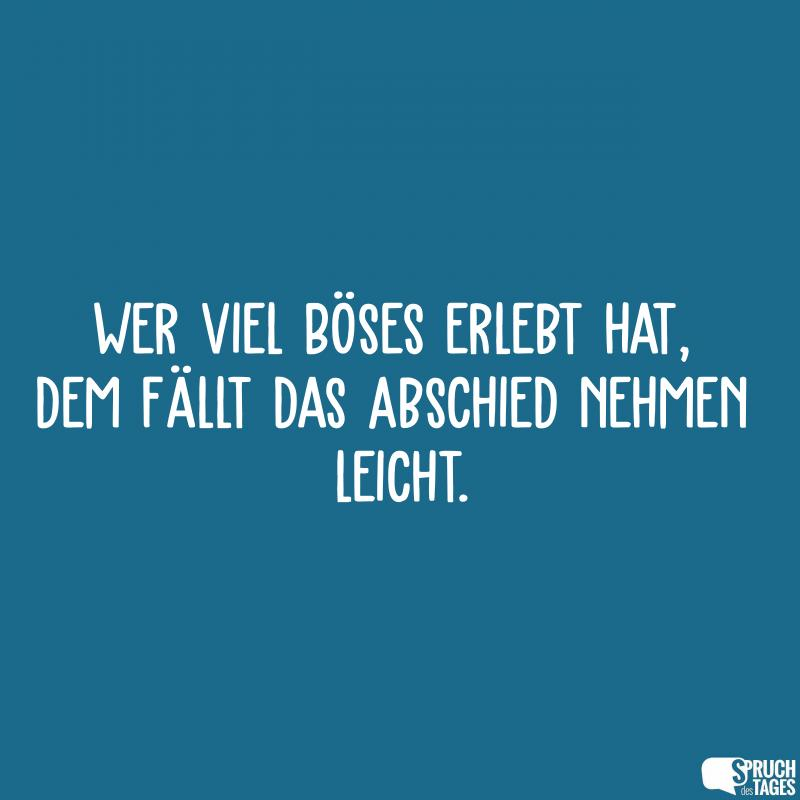 Spruch abschied neuanfang
