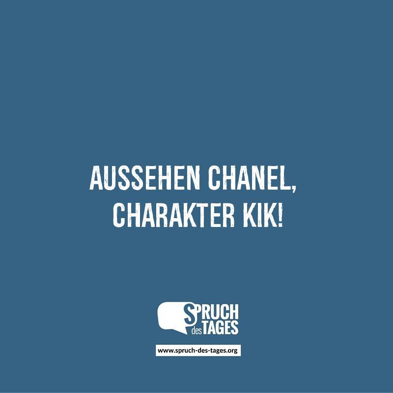 Aussehen Chanel Charakter Kik
