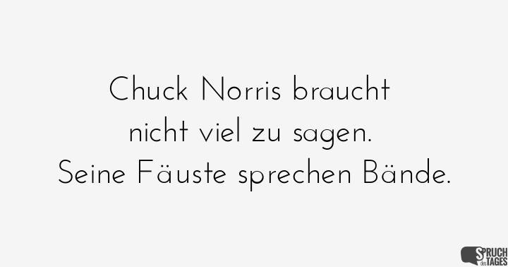 chuck norris sprüche englisch