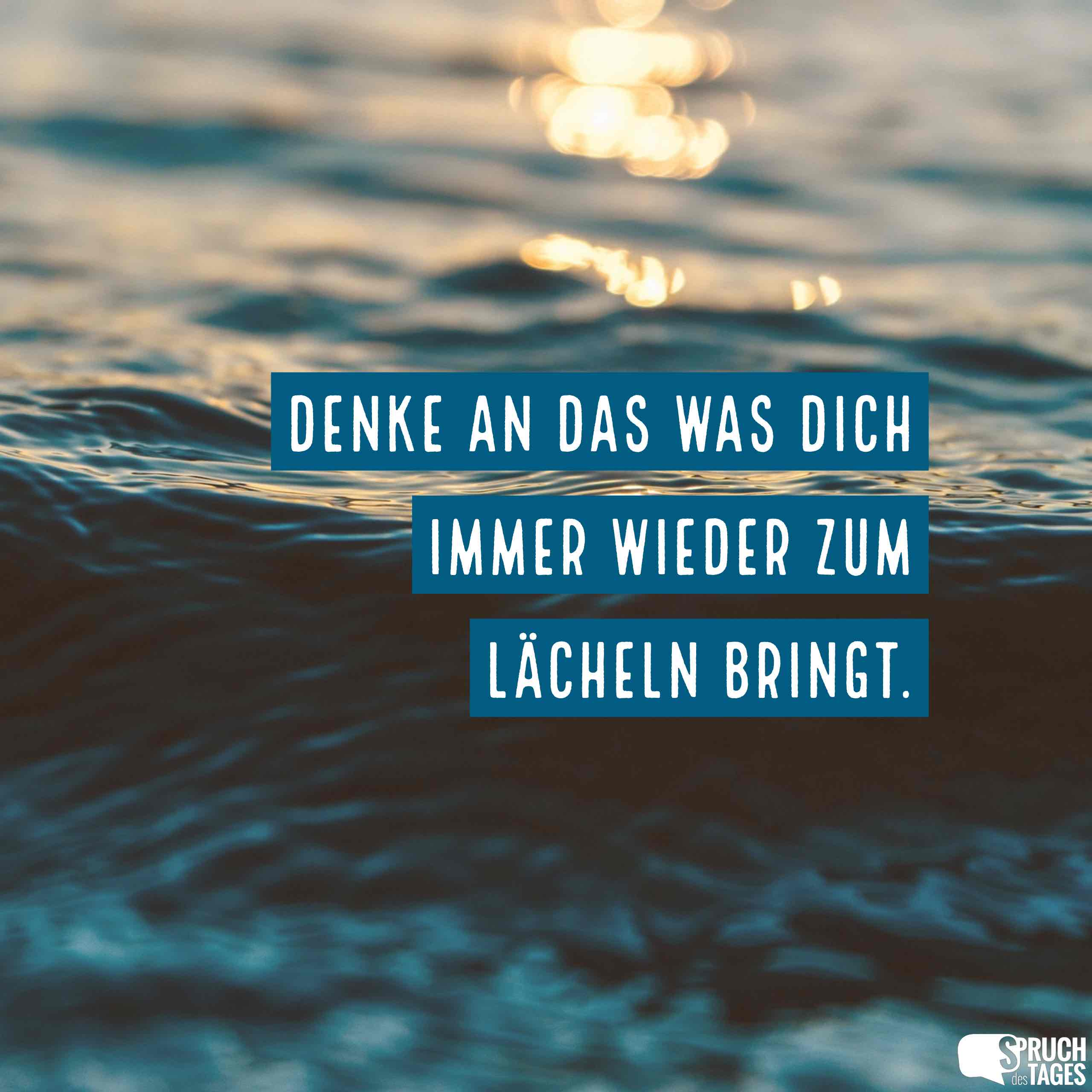Charmant Spruch Des Tages