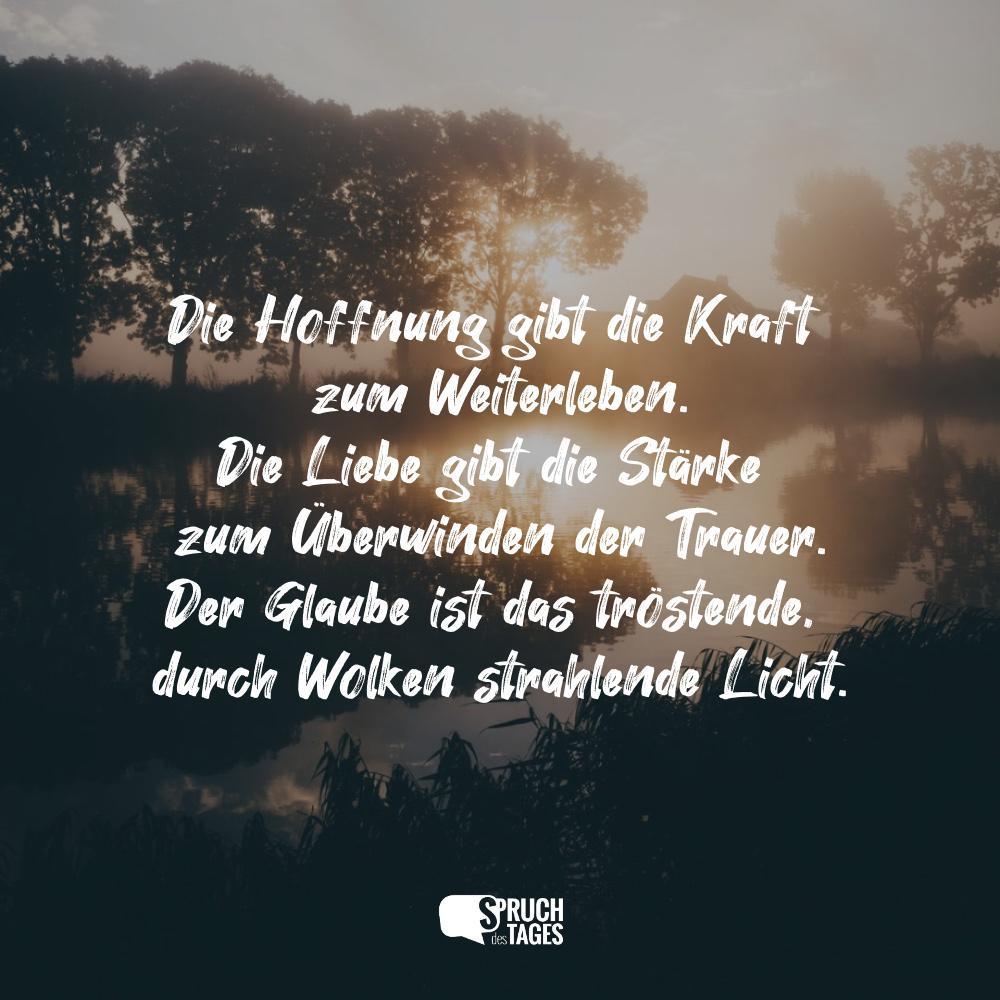 Sprüche Zum Thema Hoffnung Spruch Des Tages