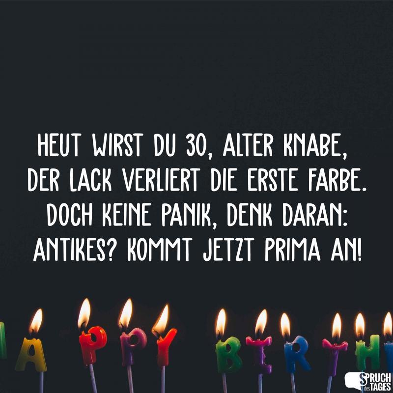 Sprüche Zum 30 Geburtstag Geburtstagssprüche Und Wünsche