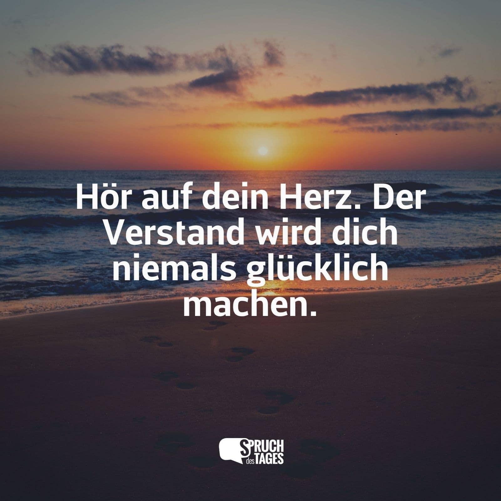 Merveilleux Der Verstand Wird Dich Niemals Glücklich Machen.
