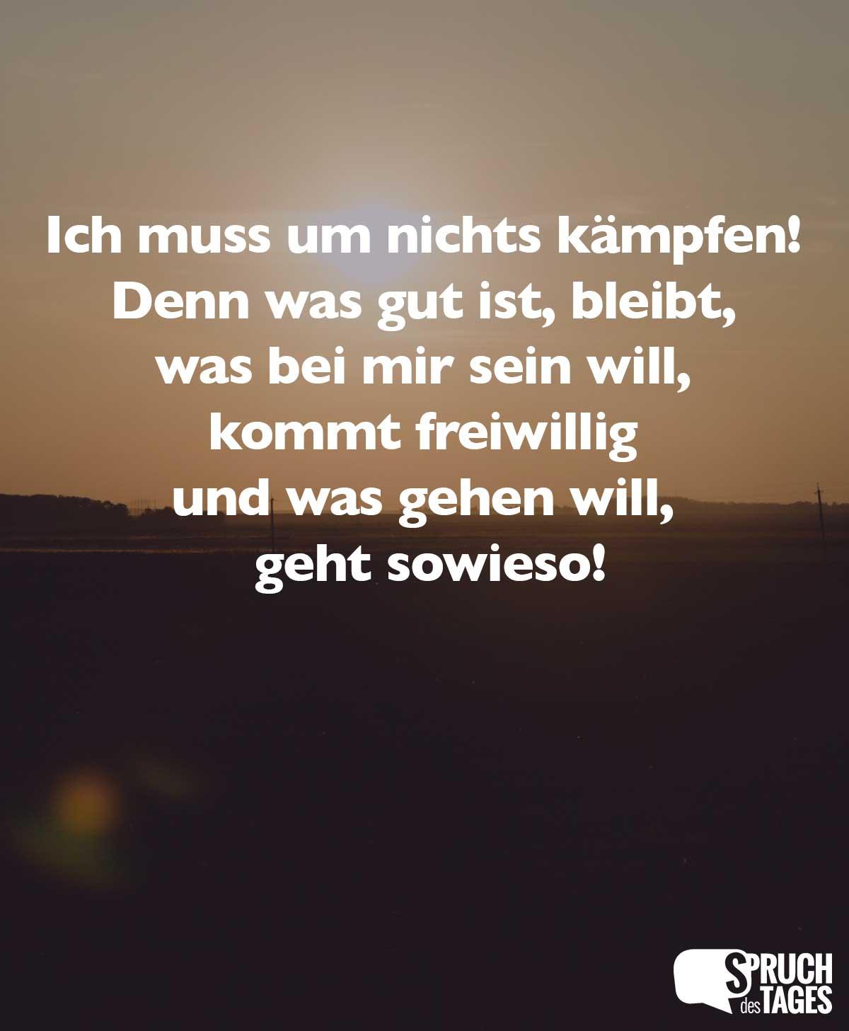 Nicht hat schon will spruch wer der Verzeichnis:Deutsch/Sprichwörter