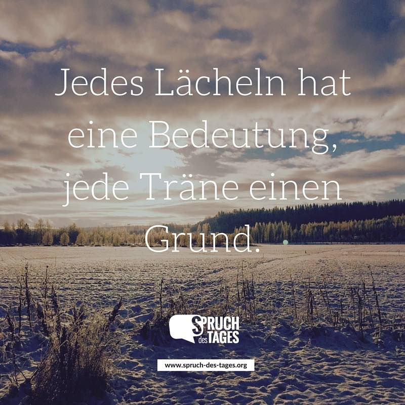 Beau Spruch Des Tages