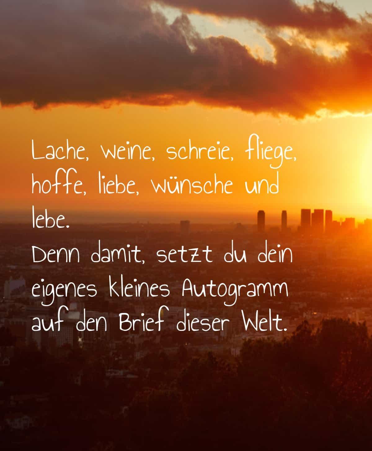happy birthday lina Lache-weine-schreie-fliege-hoffe-liebe-wuensche-und-lebe-denn-damit-setzt-du-dein-eigenes-kleines-autogramm-auf-den-brief-dieser-welt