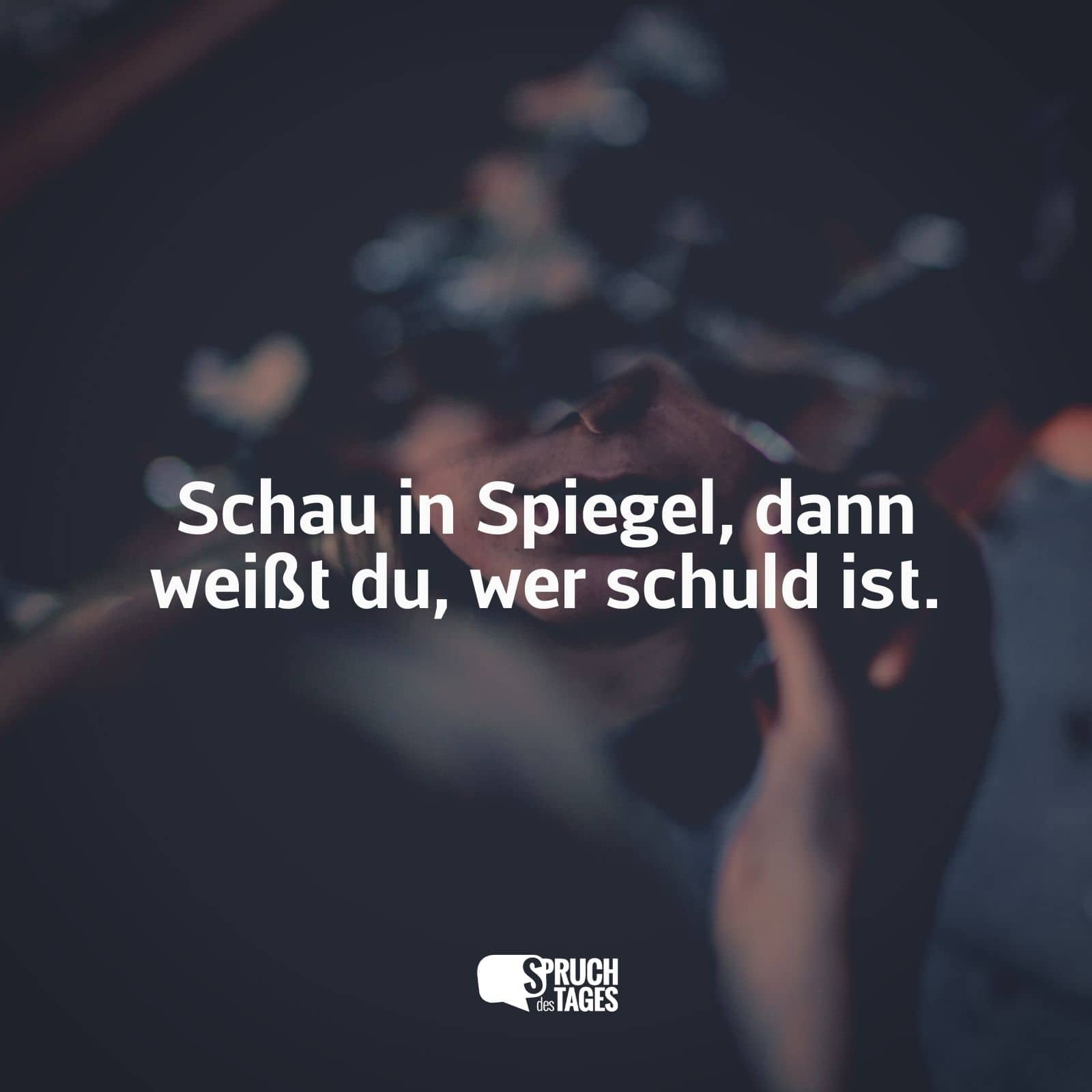 The memorandum Sprüche Selber Schuld the wake