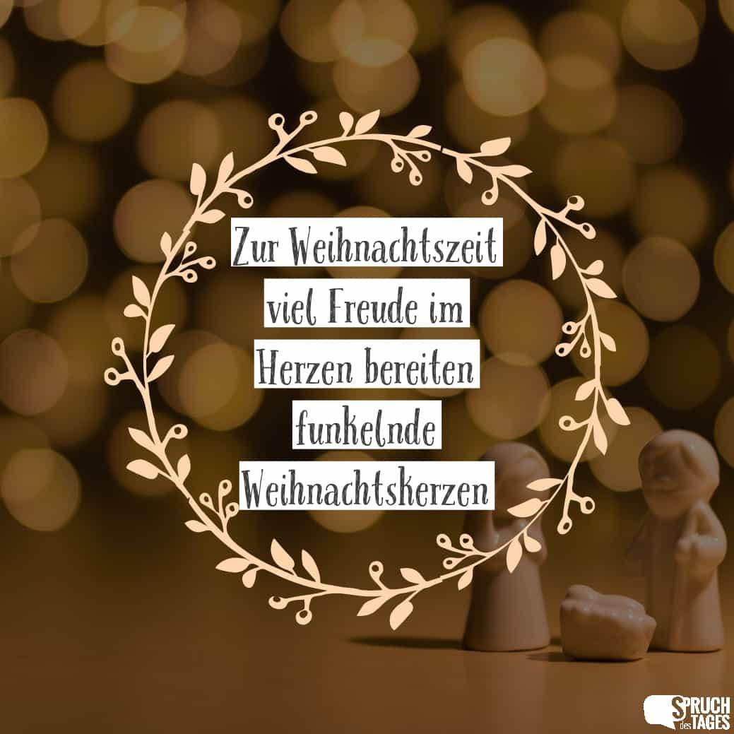 Spruch Zur Weihnachtszeit
